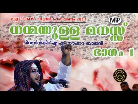 Nanmayulla Manass Vol 1- Am Noushad Baqavi- Mfip Kollam video