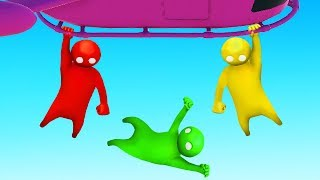 LET GO and You FAIL! (Gang Beasts)