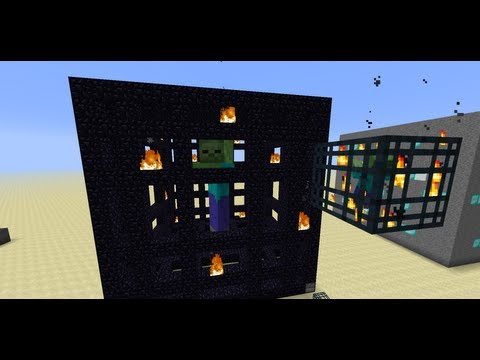 Minecraft Mega Blocks -- Ep 2: Mob Spawner, Daylight Sensor and Dispenser Innards