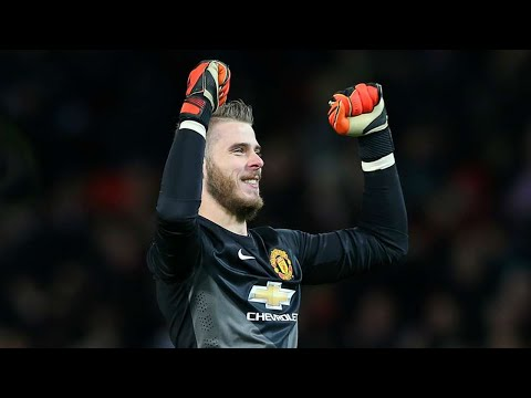 David de Gea - Red Panther - Best Saves - Manchester United - 2014/15 HD