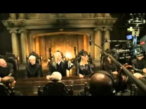 Видео как снимали Гарри Поттера