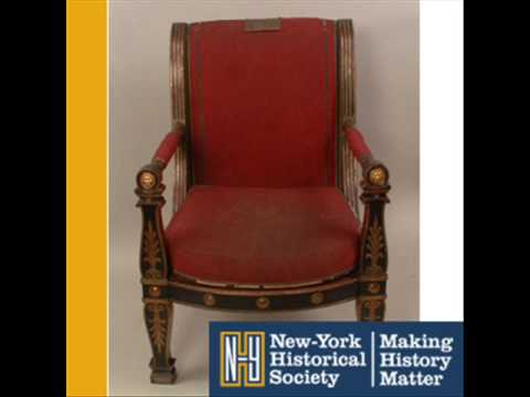 Napolean Bonaparte's Armchair (426) | New-York Historical Society