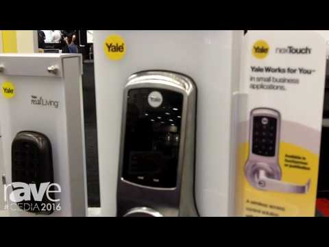 CEDIA 2016: Yale Residential Demos the neoTouch Light Commercial Communicating Door Lock