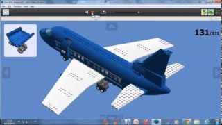 How to build a lego passenger plane 2014 version