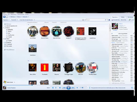 Eliminar archivos de windows media player