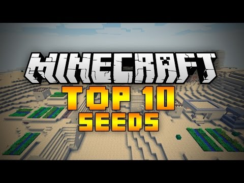 TOP 10 AWESOME SEEDS - MINECRAFT PE - 0.10.5/0.11.0