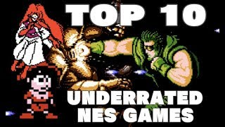 Top 10 Underrated NES Games!