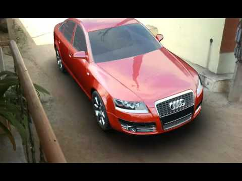 3d camera tracking audi a6 boujoue 3ds max after effects