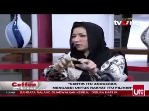 RITA WIDYASARI at COFFEE BREAK TV ONE