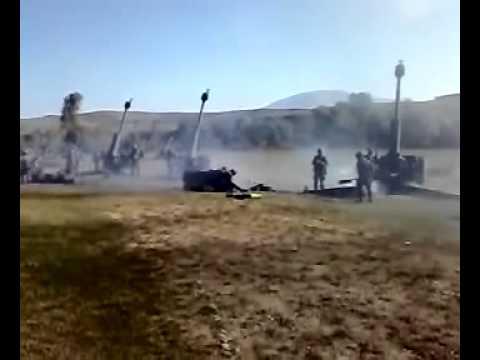 GEORGIAN artilery