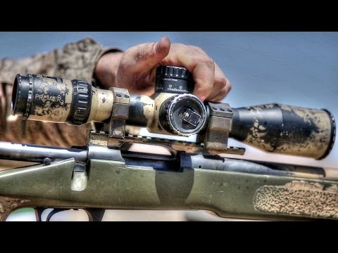 Marine Scout Sniper Training