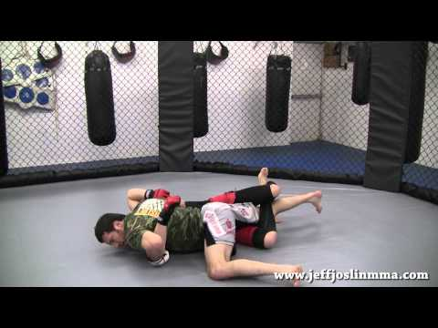 MMA - BJJ - Technique - Passing the 1/2 Guard - The Sprawl Pass Image 1