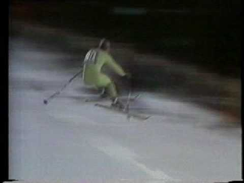Franz Klammer - 1976 Olympic Gold Medal Run