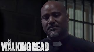 Father Gabriel Avenges Siddiq | The Walking Dead Season 10 Ep. 8