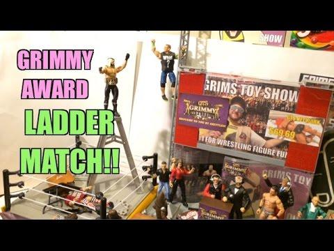 GTS WRESTLING: Grimmy Awards! WWE Slammy Wrestling Figure Animation PPV Matches Event! Mattel Elite!