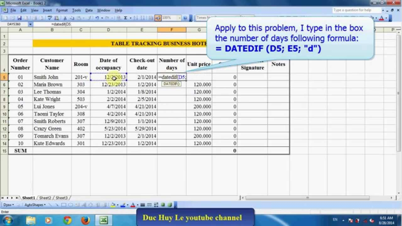 Calculate months between two dates online