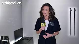 Salone Internazionale del Bagno 2018 | CEA DESIGN - Roberta Bertacco presenta Abaco