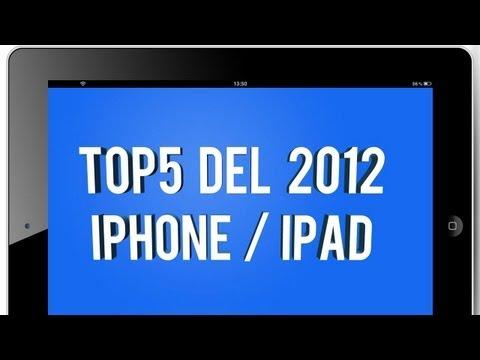 Los mejores juegos de iPhone/iPad TOP5 de 2012