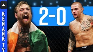 Why Conor McGregor KOs & DESTROYS Dustin Poirier in REMATCH | UFC: Full Fight Breakdown Prediction!
