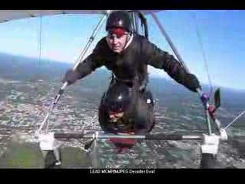 Hang Gliding extreme in Upstate New York Video