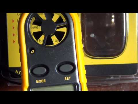 HQRP JT-816 Anemometer Wind Speed Meter Mini Weather Station & Thermometer review