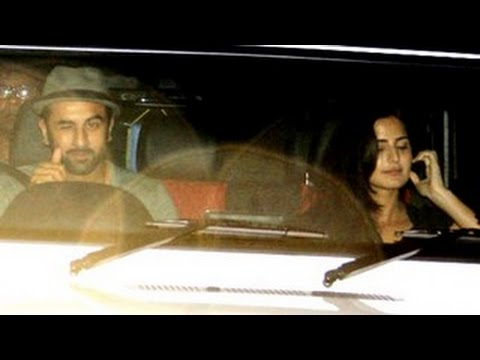 Ranbir Kapoor SPOTTED with girlfriend Katrina Kaif at Karan Johar's BASH