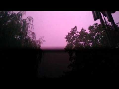 Aktywna Burza W Krakowie || Spectacular Storm In Cracow - 15.06.2015