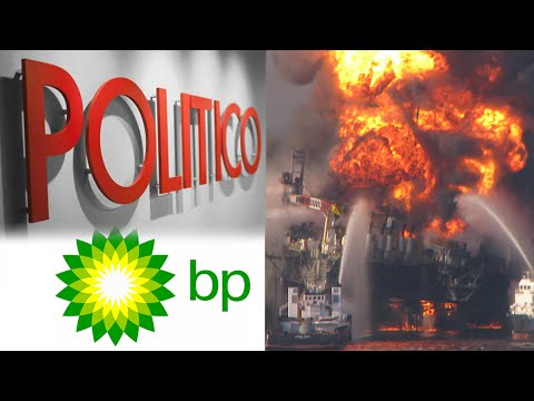 Politico & Bp Blatantly Conspire To Hide Bp's Devastating Oil Spill video