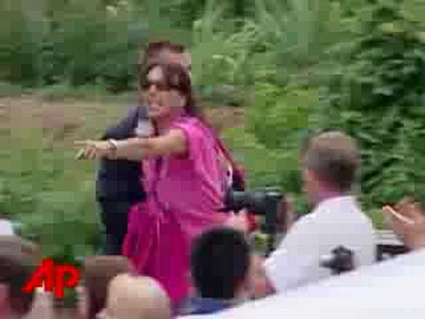 Raw Video: Bush Heckled at July 4th Speech