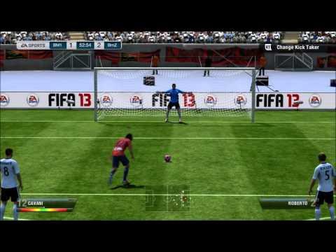 Edinson Cavani Review - FIFA 13 Ultimate Team