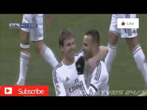 Real Madrid 3 - 0 Elche | Illarramendi's Goal | La Liga 22/02/14