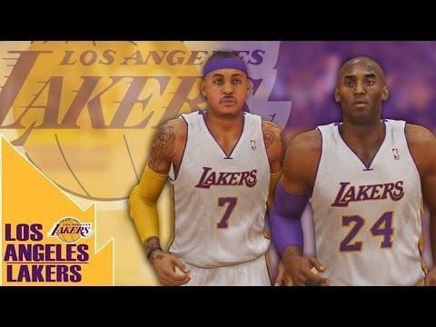 NBA 2K14 MyGM Lakers Mix  Jabari Parker Nba 2k14