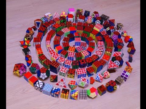 Моя коллекция шарнирных головоломок