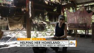 Betty Nguyen Helps Vietnamese Struggling to Survive