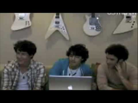 Joe Jonas Funny Facebook Webcast Moments Music Videos