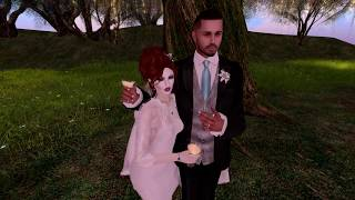 Jim & Lyrica Second Life Wedding- 4.14.18