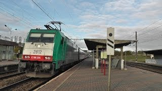 "186 204, Bombardier TRAXX SNCB 2812, compilation for playlist ""BR 186 in action"" see INFORMATION"