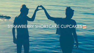 strawberry shortcake cupcakes || R DNCR