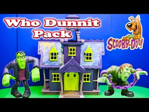Cartoon Network Scooby Doo Who Dunnit Pack Unboxing and Review