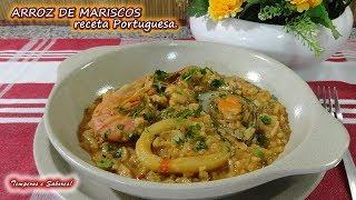 ARROZ DE MARISCOS, un delirio de sabor, receta Portuguesa