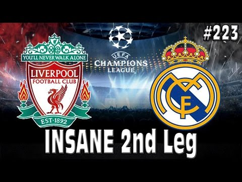 FIFA 15 LIVERPOOL CAREER MODE - INSANE 2nd Leg vs REAL MADRID - CL SEMI-FINAL!! #223