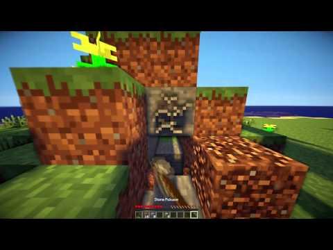 Minecraft: Swimming Island Survival #1 /w DusSia