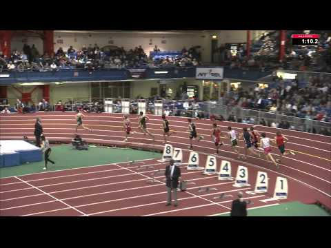 Larry Byrne New Balance Boys HS Mile (Millrose Games 2012)