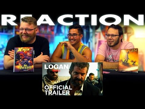 Logan Official Trailer REACTION!!