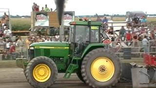 John Deere 7810 pulling St-Damase 2011 part 1