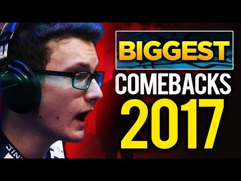 Biggest Comebacks of 2017 – Dota 2