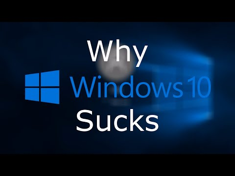Why Windows 10 Sucks