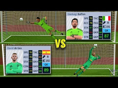 De Gea vs Buffon | Penalty Shootout | Dream League Soccer 18