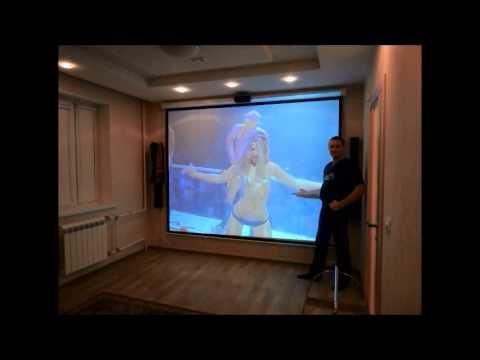 Как сделать экран для проектора своими руками в домашних