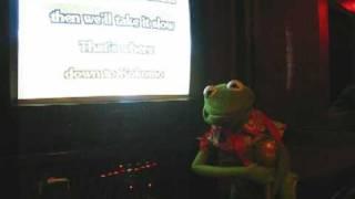 """Download Lagu Kermit The Frog sings """"Kokomo"""" at a karaoke studio! Gratis STAFABAND"""